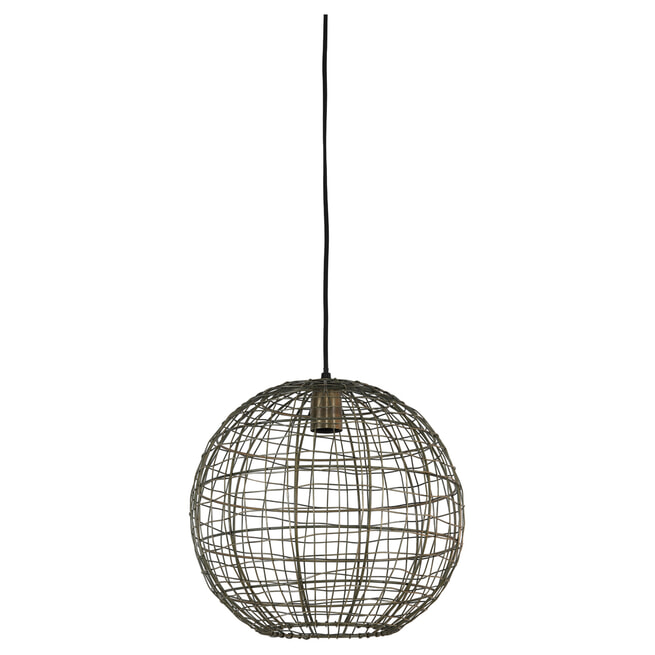 Light & Living Hanglamp 'Mirana' kleur brons