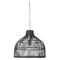 Light & Living Hanglamp 'Pocita' 48cm, rotan zwart
