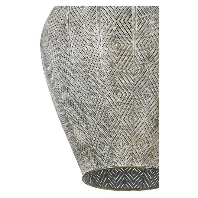 Light & Living Hanglamp 'Lavello' kleur Antiek Goud-/Wit
