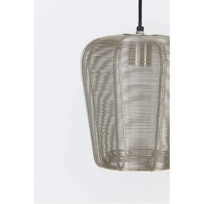 Light & Living Hanglamp 'Adeta' kleur Nikkel