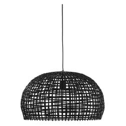 Light & Living Hanglamp 'Olaki' 56cm, rotan zwart