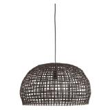 Light & Living Hanglamp 'Olaki' 56cm, Rotan, kleur Bruin
