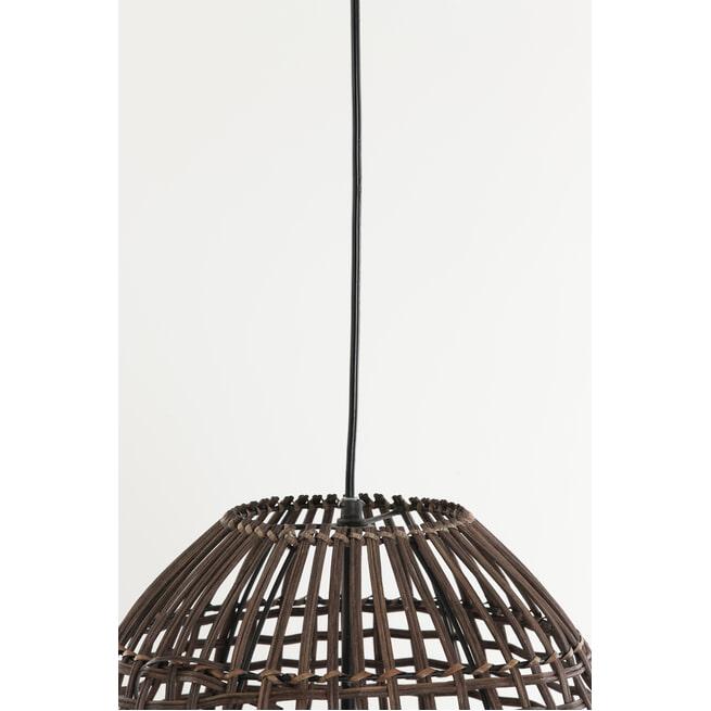 Light & Living Hanglamp 'Olaki' 40cm, rotan bruin