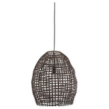 Light & Living Hanglamp 'Olaki' 40cm, Rotan, kleur Bruin
