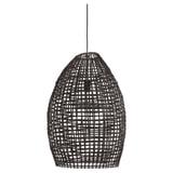 Light & Living Hanglamp 'Olaki' 46cm, Rotan, kleur Bruin