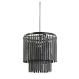 Light & Living Hanglamp 'Gulag' 45cm, kleur Zwart