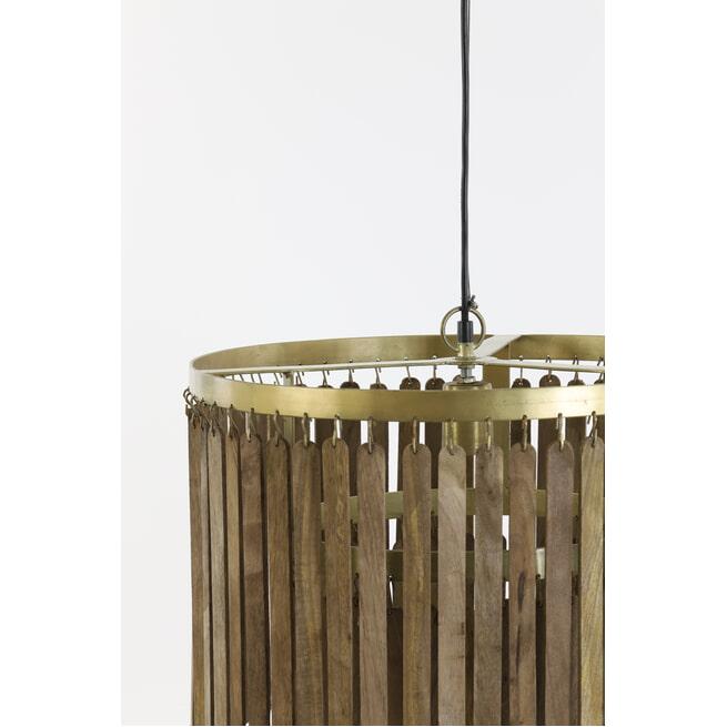 Light & Living Hanglamp 'Gulag' kleur Bruin