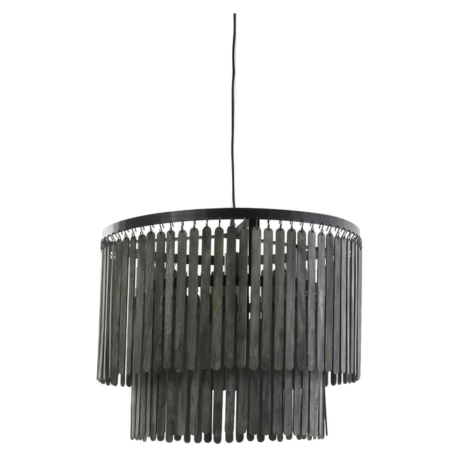 Light & Living Hanglamp 'Gulag' kleur Zwart