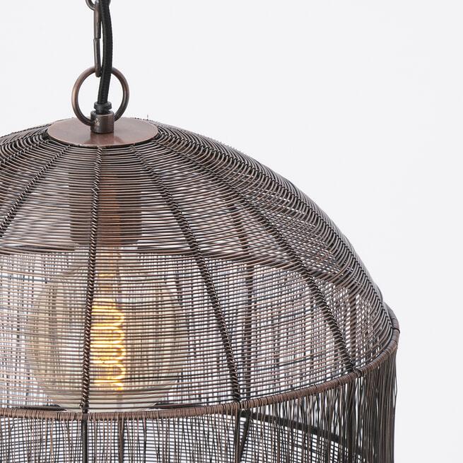 Light & Living Hanglamp 'Pilka' kleur Antiek Koper