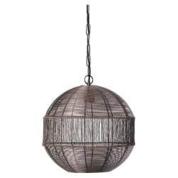 Light & Living Hanglamp 'Pilka' 45cm, kleur Antiek Koper