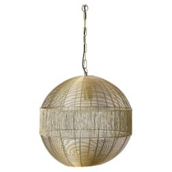 Light & Living Hanglamp 'Pilka' lichtgoud
