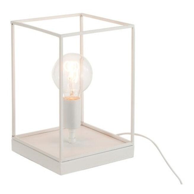 J-Line Rechthoekige Lamp 'Gaspar' Small, kleur Wit