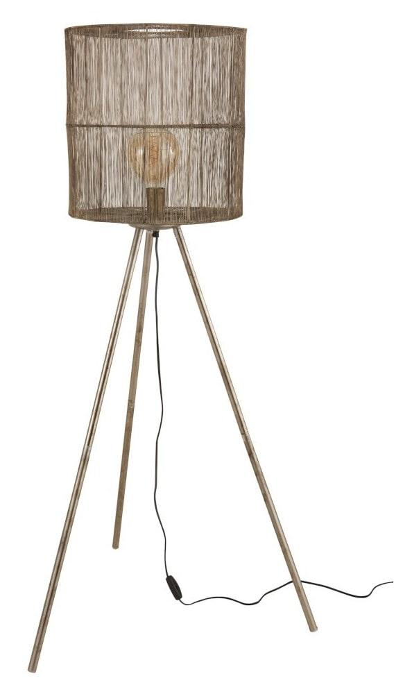 J-Line Vloerlamp 'Clairette' Large, kleur Roest Bruin, Ø74cm