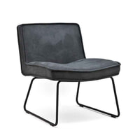 By-Boo Fauteuil 'Montana', kleur Antraciet