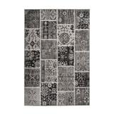 Kayoom Vloerkleed 'Ariya 425' kleur Grijs, 120 x 170cm