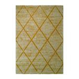 Kayoom Vloerkleed 'Luxury 210' kleur Oker / Geel, 80 x 150cm