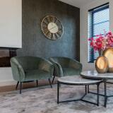 Richmond Fauteuil 'Inova' Velvet, kleur Jade-groen