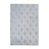 Kayoom Vloerkleed 'Monroe 300' kleur grijs, 160 x 230cm
