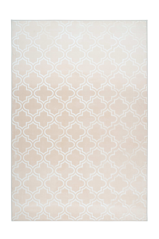 Kayoom Vloerkleed 'Monroe 100' kleur crème, 80 x 150cm