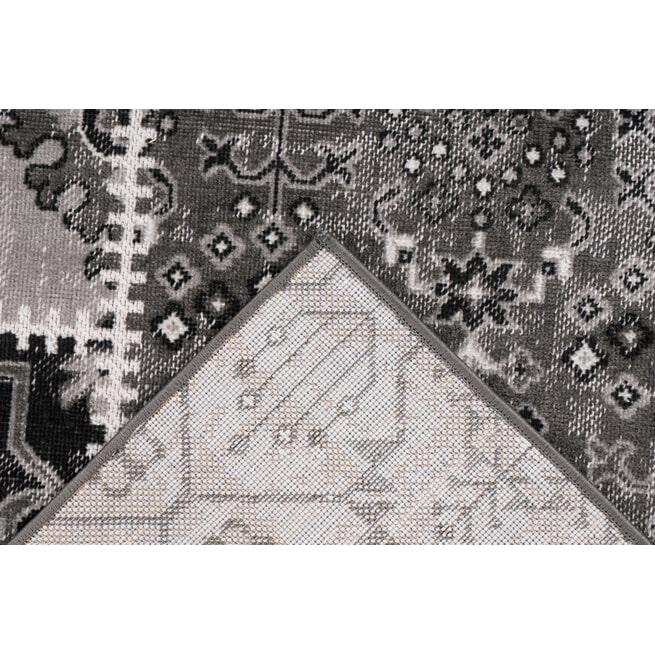 Kayoom Vloerkleed 'Ariya 425' kleur Grijs