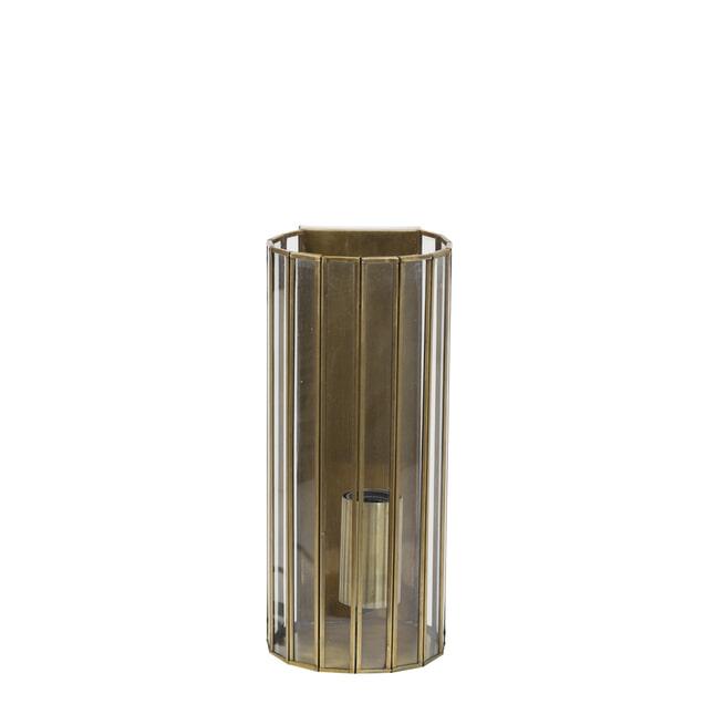 Light & Living Wandlamp 'Strøby' antiek brons+glas