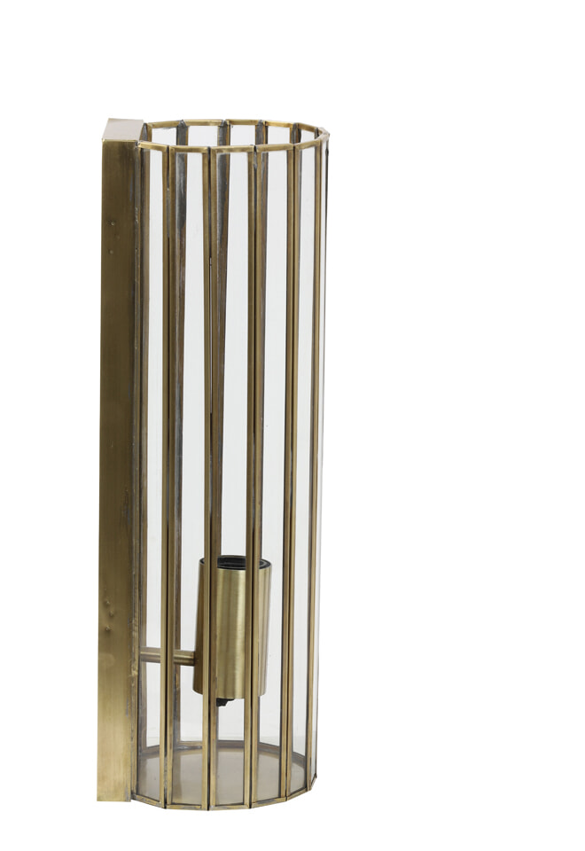 Light & Living Wandlamp 'Strøby' 41cm, kleur Antiek Brons