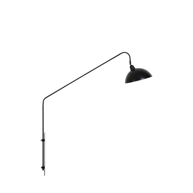 vtwonen Wandlamp 'Orion', mat zwart