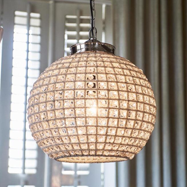 Rivièra Maison Hanglamp 'Chantilly Casablanca' 41cm