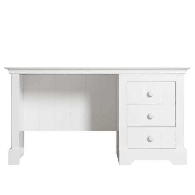 Bopita Bureau 'Narbonne' 141cm, kleur wit