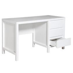 Bopita Bureau 'Corsica' 130cm, kleur wit