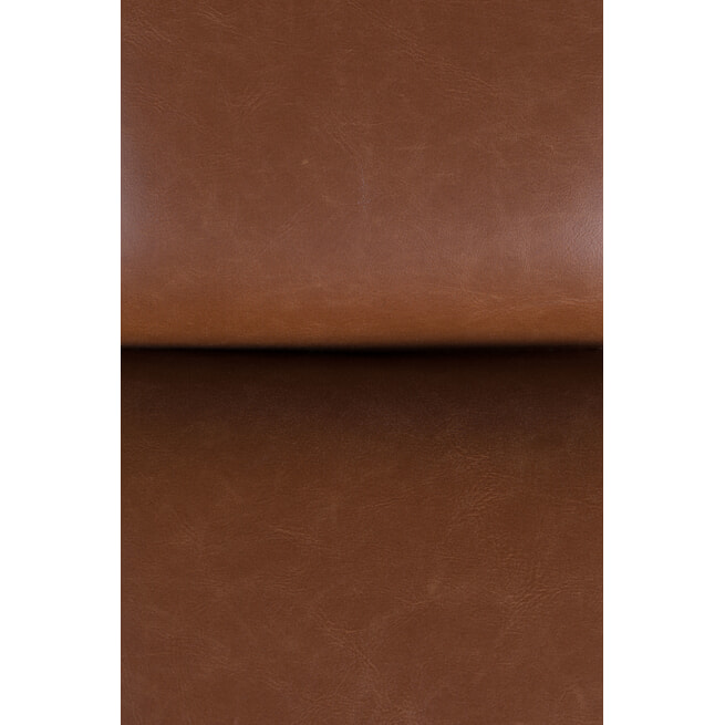 Dutchbone Hocker 'Bar' PU, kleur Vintage Bruin