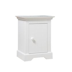 Bopita Nachtkastje 'Narbonne' kleur wit