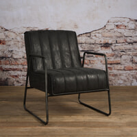 Tower Living Fauteuil 'Santo' kleur antraciet