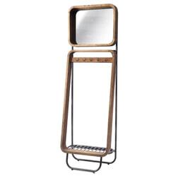Rivièra Maison Kapstok 'Soho' met spiegel, 190 x 60cm