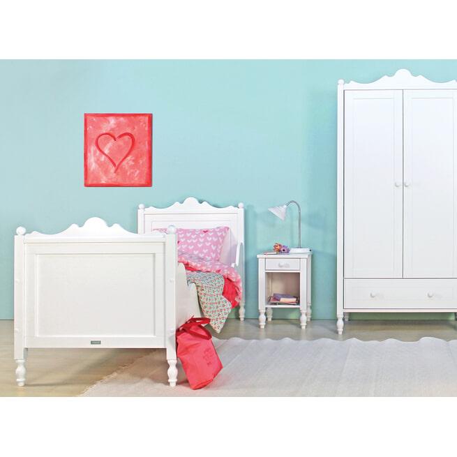 Bopita Bed 'Belle' 90 x 200cm, kleur wit