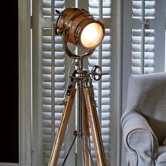 Rivièra Maison Vloerlamp 'Hollywood Studio' 175cm