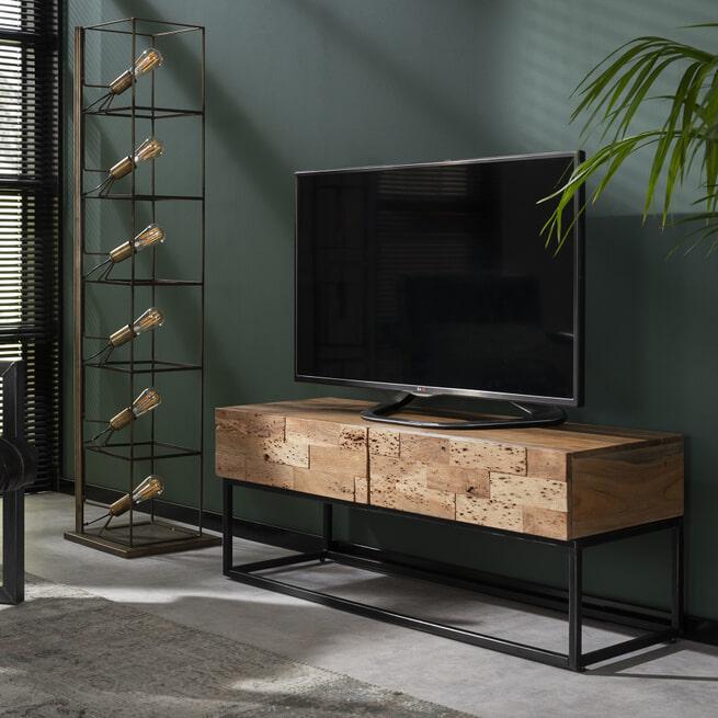 Industrieel TV-meubel 'Mill' 120cm
