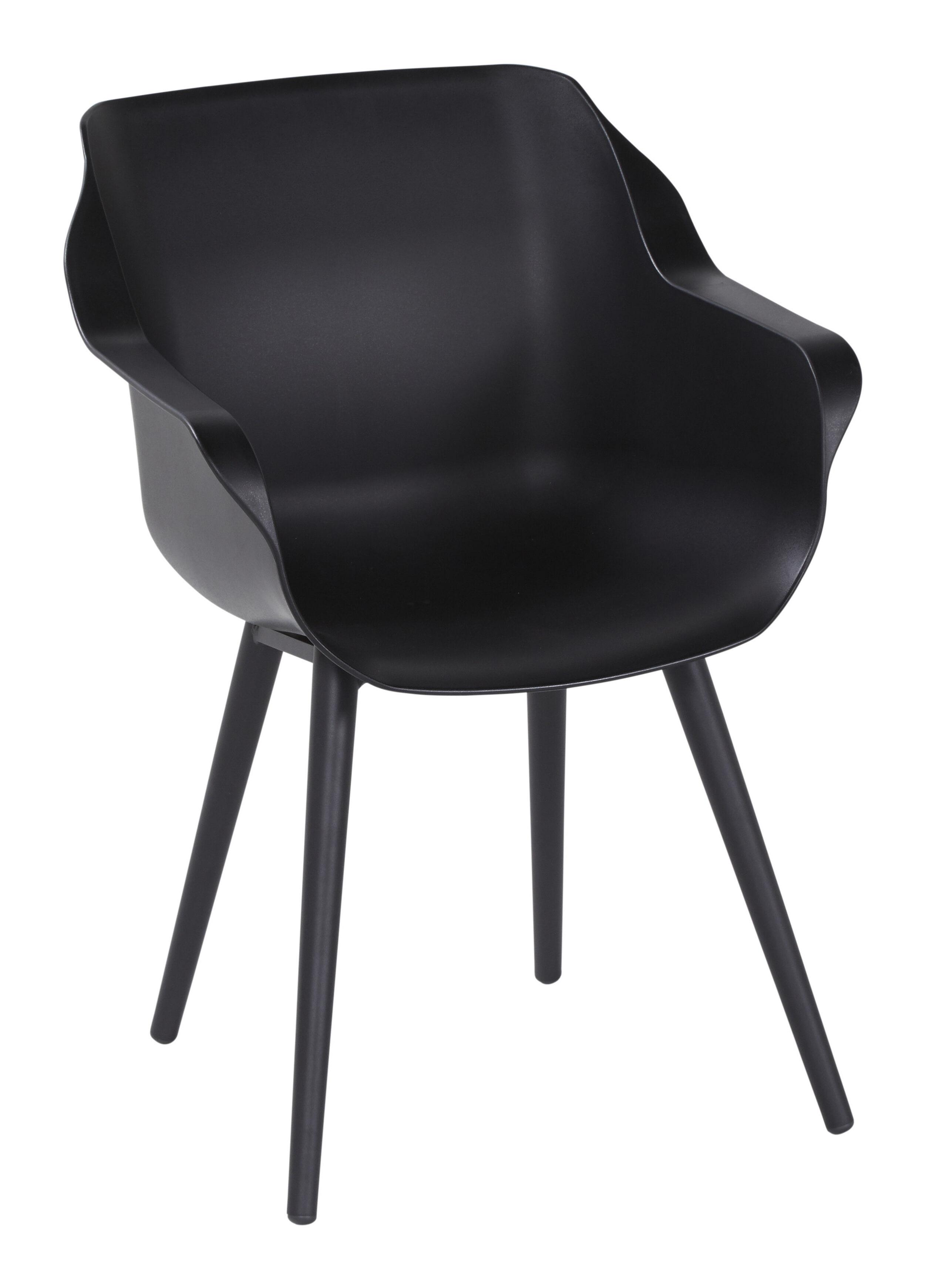 Hartman Tuinstoel 'Sophie Studio' met armleuning, kleur Zwart