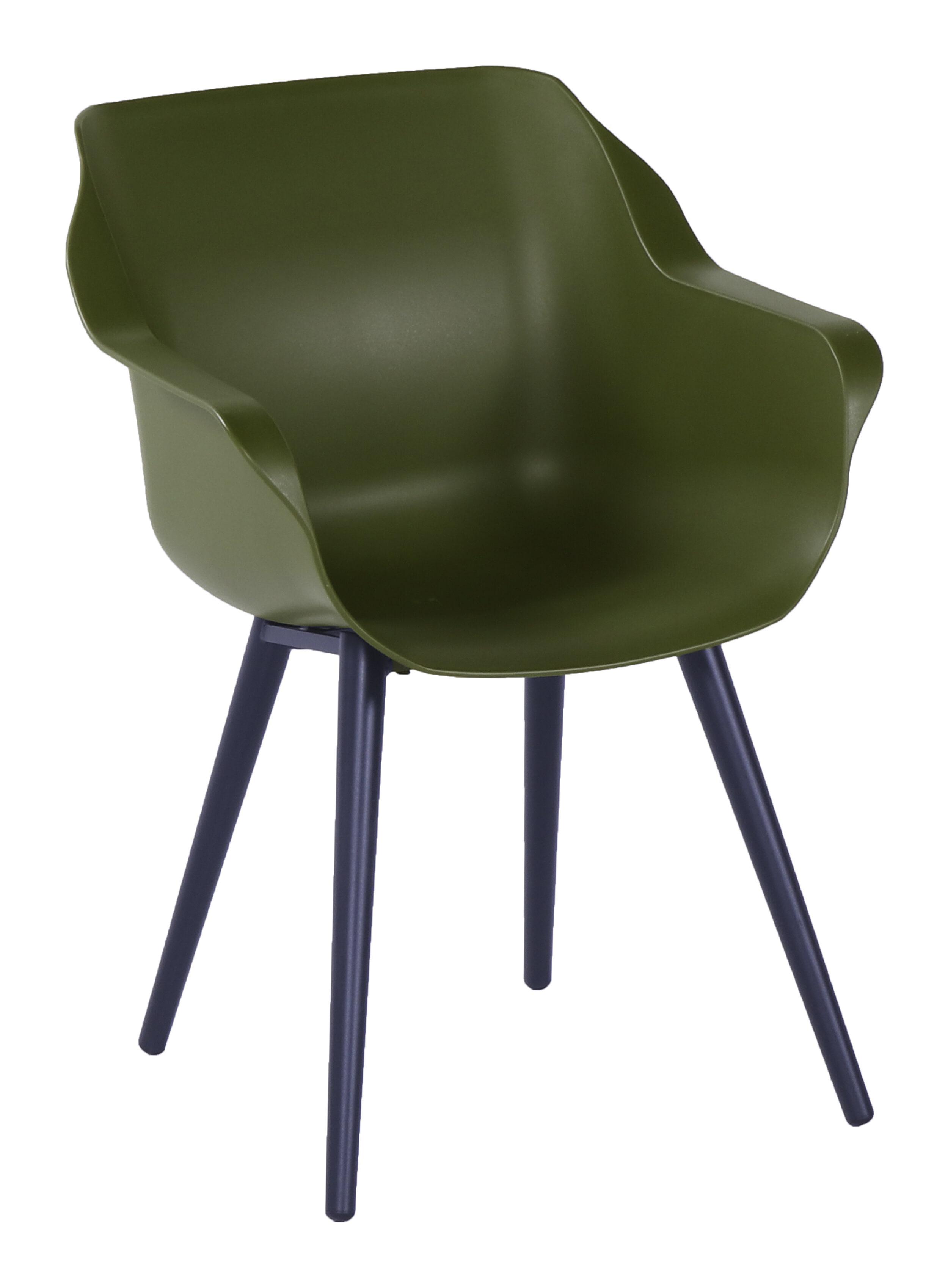 Hartman Tuinstoel 'Sophie Studio' met armleuning, kleur Groen