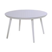 Hartman Ronde Tuintafel 'Sophie Studio' HPL, 128cm, kleur Wit