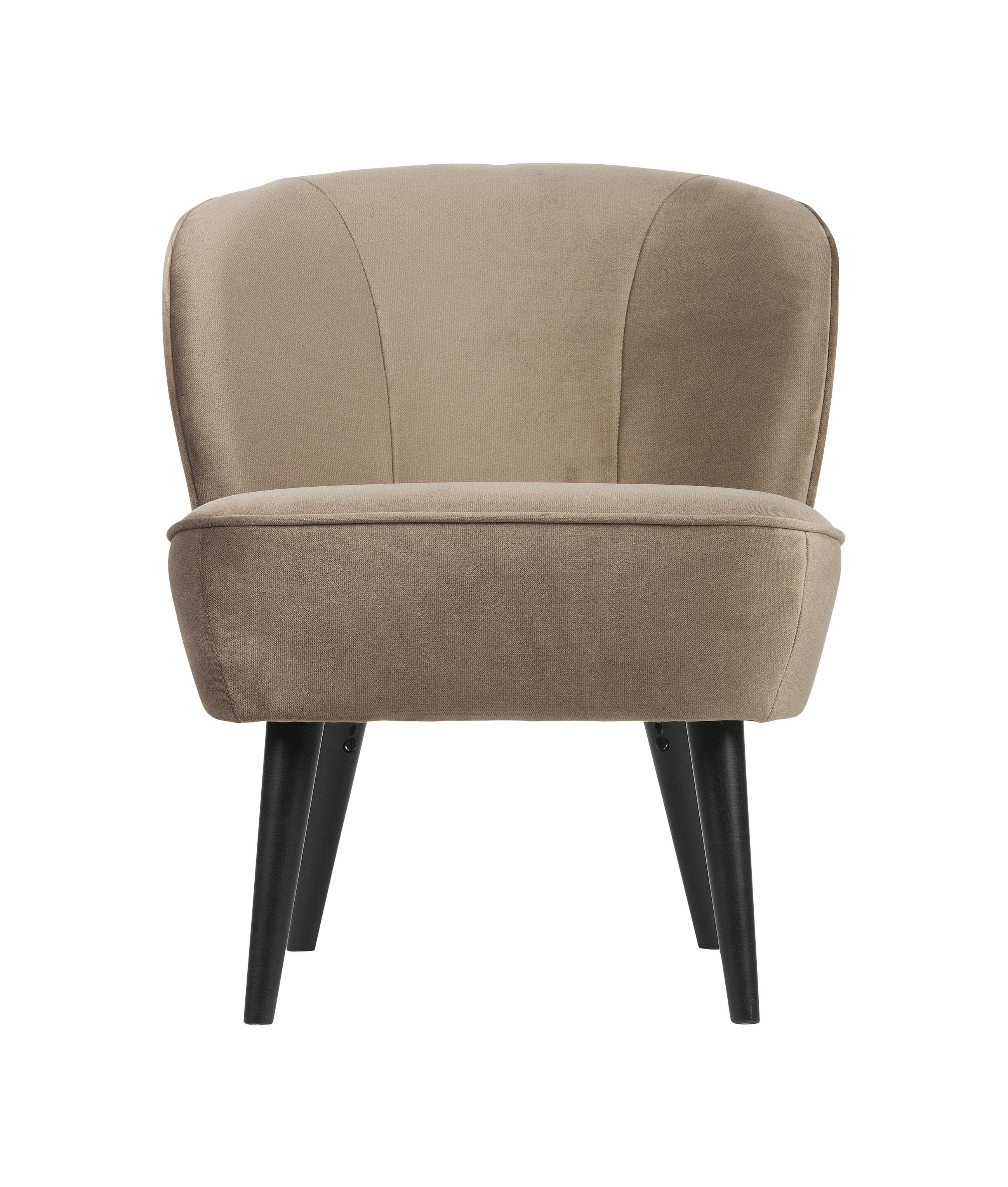 Uw partner in meubels: WOOOD Fauteuil 'Sara', kleur Goud Zitmeubelen | Fauteuils