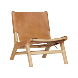 vtwonen Fauteuil 'Buckle Up', kleur Naturel