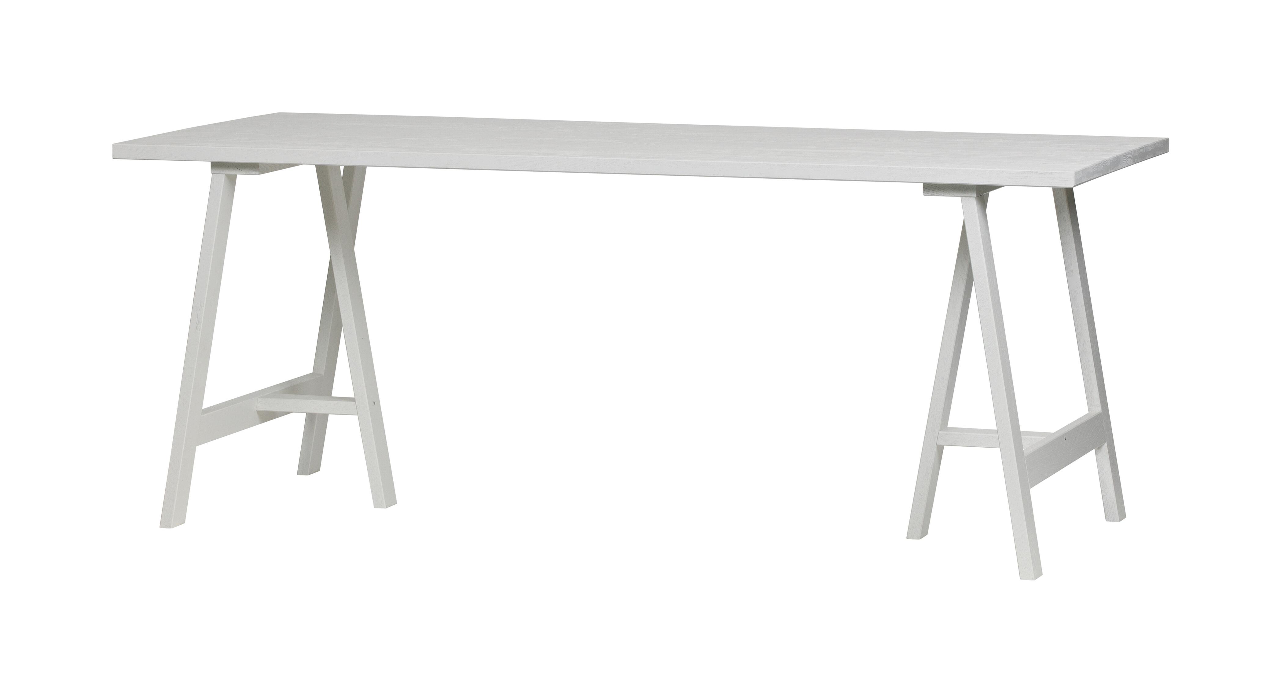 vtwonen Eettafel 'Panel' 190 x 80cm, kleur Wit met voordeel snel in huis via Meubel Partner