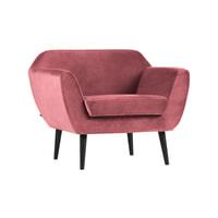 WOOOD Fauteuil 'Rocco', kleur Roze