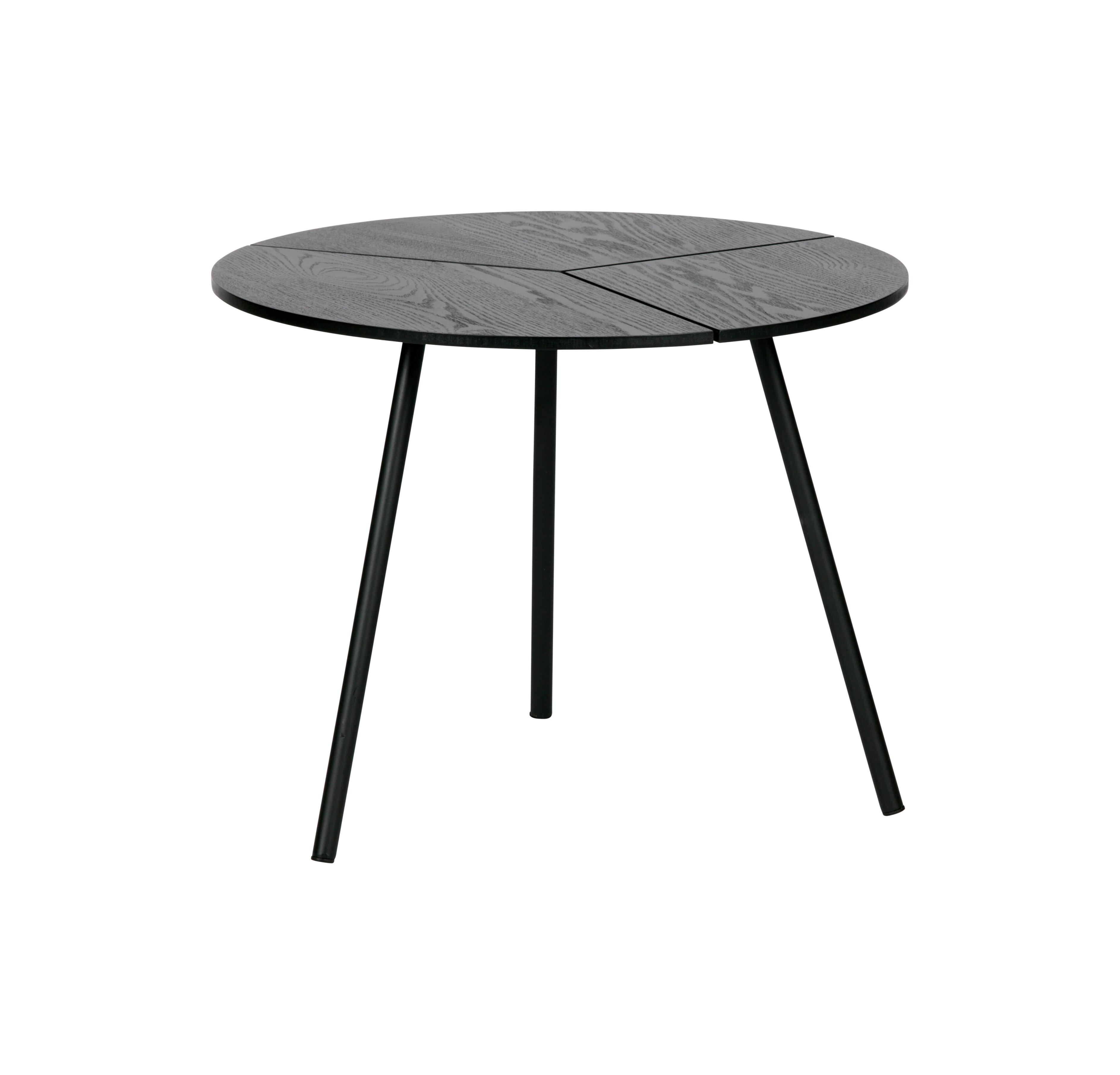 WOOOD Bijzettafel 'Rodi' 48cm, kleur Zwart