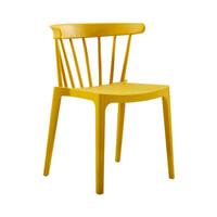 WOOOD Tuin / Eetkamerstoel 'Bliss' kleur Geel