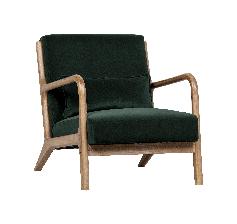 WOOOD Fauteuil 'Mark', kleur Groen