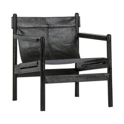 BePureHome Fauteuil 'Chill', kleur Zwart