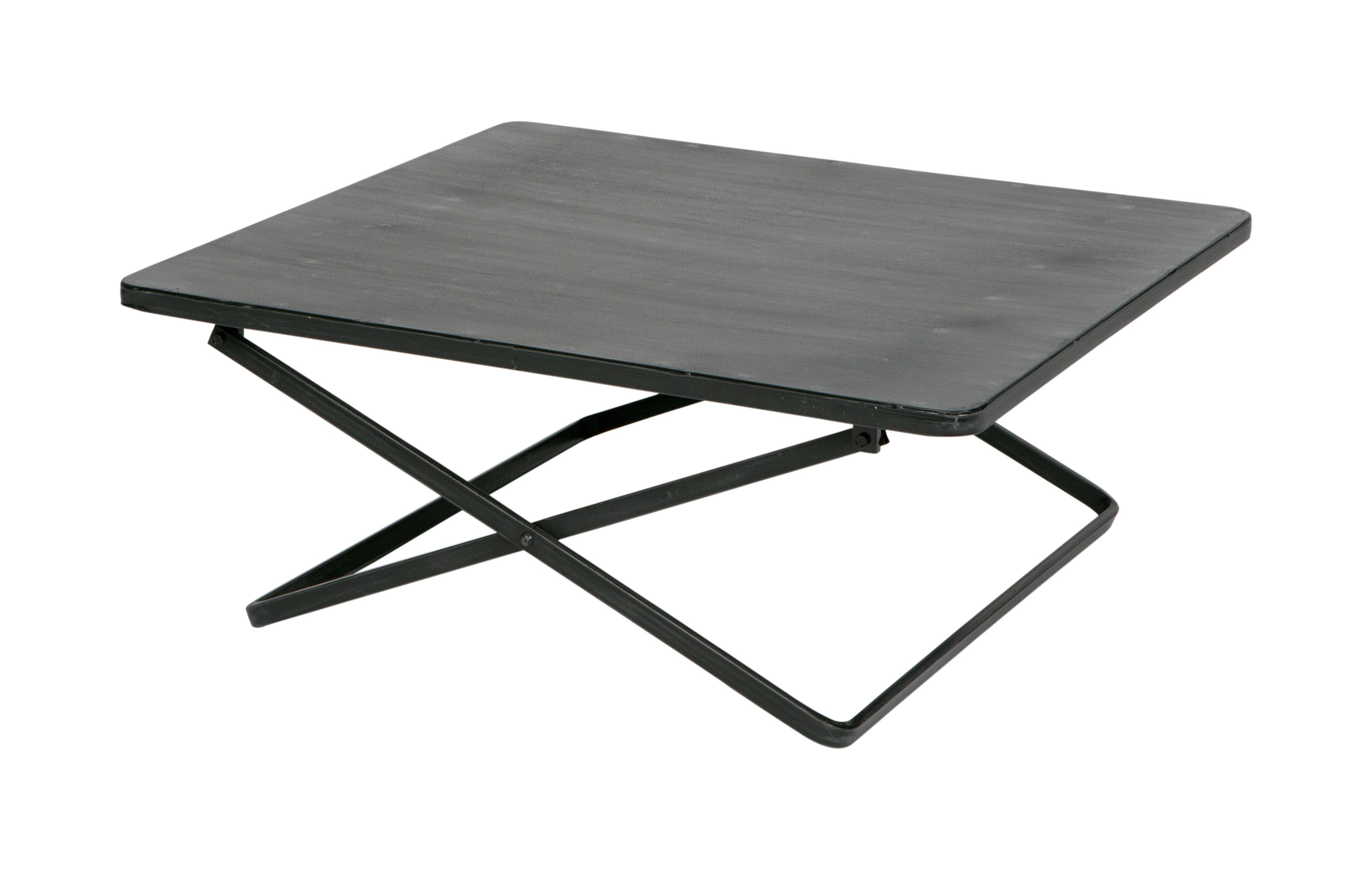 vtwonen Bijzettafel 'Crux' 76 x 70cm, kleur Zwart met voordeel snel in huis via Meubel Partner