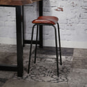 Industriële Barstoel 'Isao' (zithoogte 70cm)